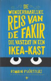 De wonderbaarlijke reis van de fakir die vastzat in een Ikea-kast, Romain Puértolas