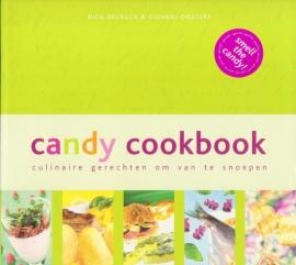 Candy cookboek, Nick Decrock & Giovani Oosters, NIEUW BOEK