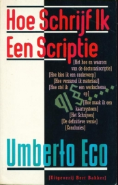 Hoe schrijf ik een scriptie, Umberto Eco