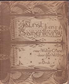 Kunst en Samenleving, Walter Crane, vertaald en bewerkt door Jan Veth