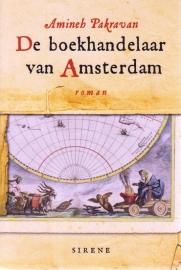 De boekhandelaar van Amsterdam, Amineh Pakravan, NIEUW BOEK