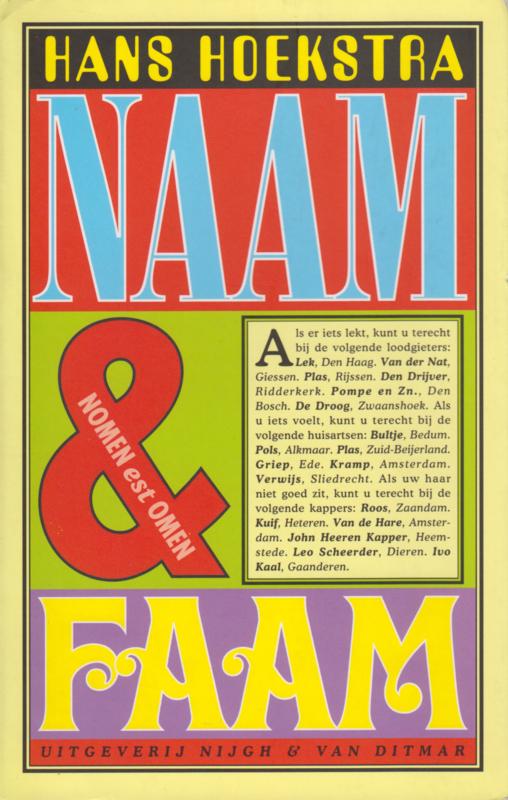 Naam & faam, Hans Hoekstra