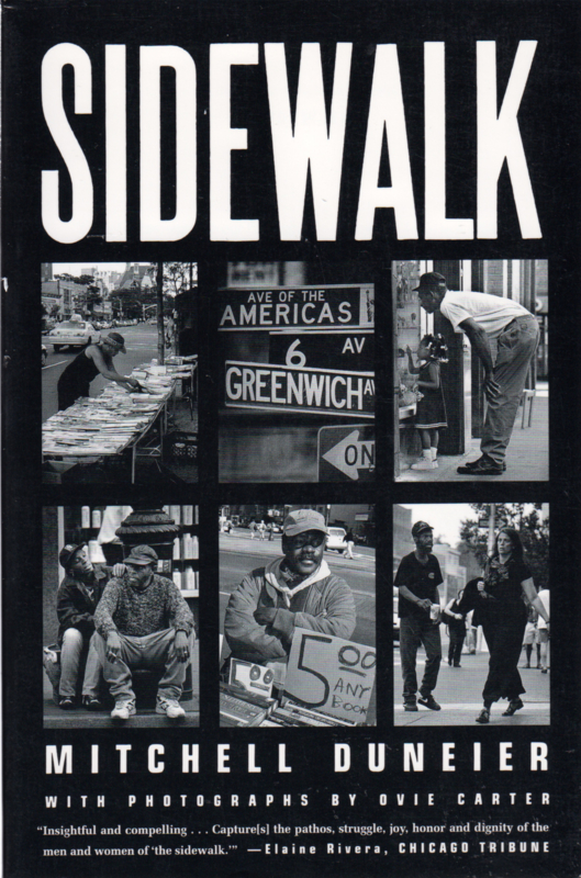 Sidewalk, Mitchell Duneier