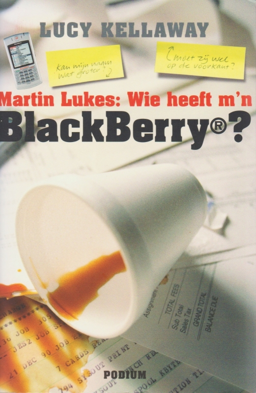Martin Lukes: Wie heeft m'n BlackBerry?