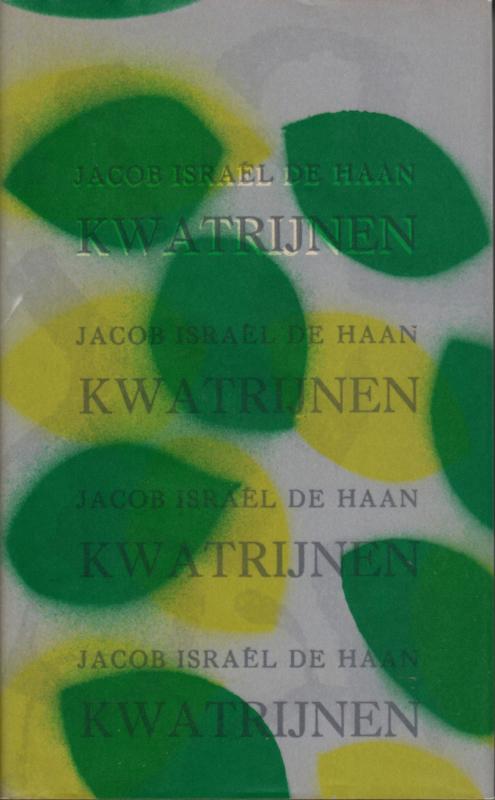 Kwatrijnen, Jacob Israël den Haan