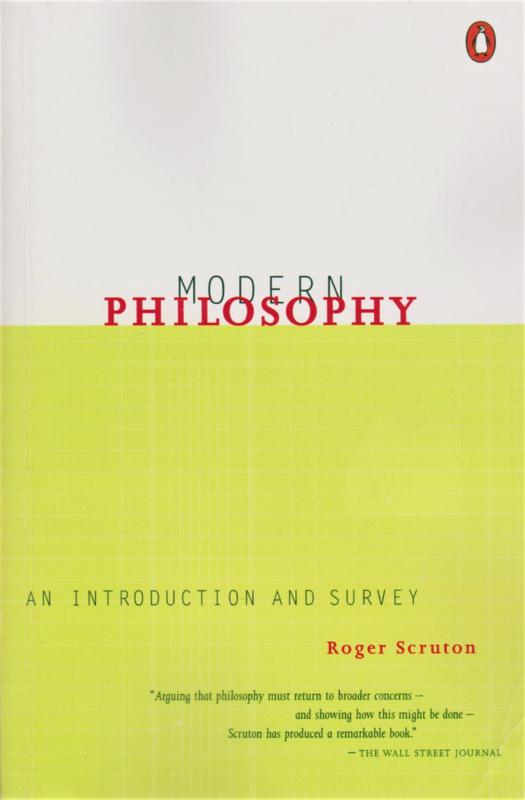 Modern Philosophy, Roger Scruton