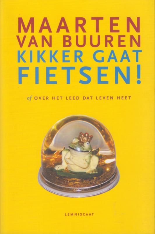 Kikker gaat fietsen!, Maarten van Buuren