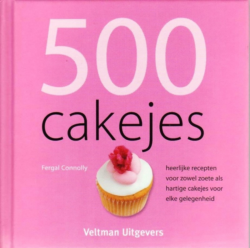 500 cakejes, Fergal Connolly, NIEUW BOEK