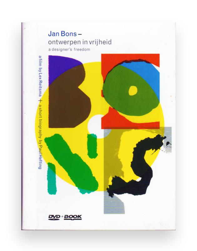 Jan Bons - Ontwerpen in vrijheid, Paul Hefting, DVD + BOOK