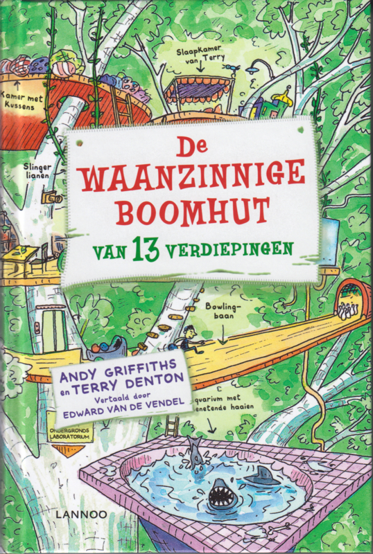 De waanzinnige boomhut, Andy Griffiths en Terry Denton