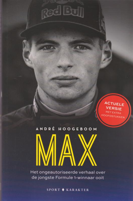 MAX, André Hoogeboom, NIEUW BOEK