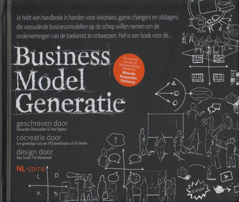 Business Model Generatie, Alexander Osterwalder & Yves Pigneur