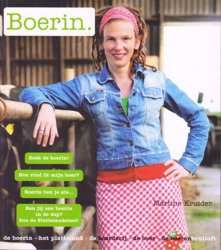 Boerin, Martine Kruider, NIEUW BOEK