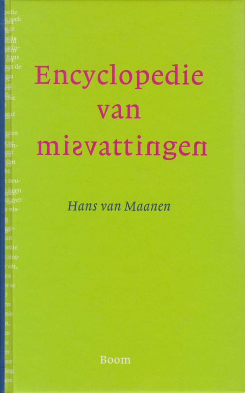 Encyclopdie van misvattingen, Hans van Maanen
