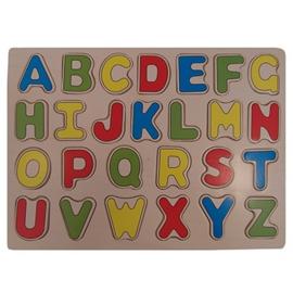 Puzzel ABC hoofdletters