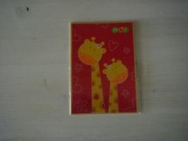 Kaart giraffes