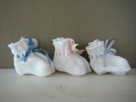 Babysokjes (handgebreid)