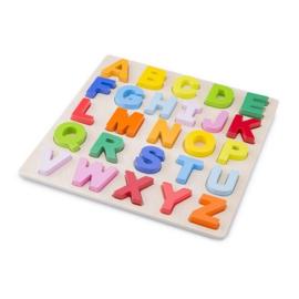 Alfabet puzzel grote stukken