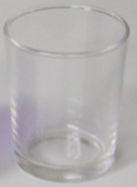 Glaasje voor geurkaarsen