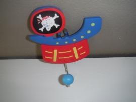Kapstokje piratenschip