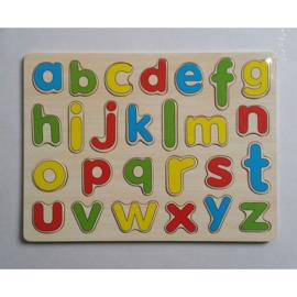Puzzel ABC schrijfletters
