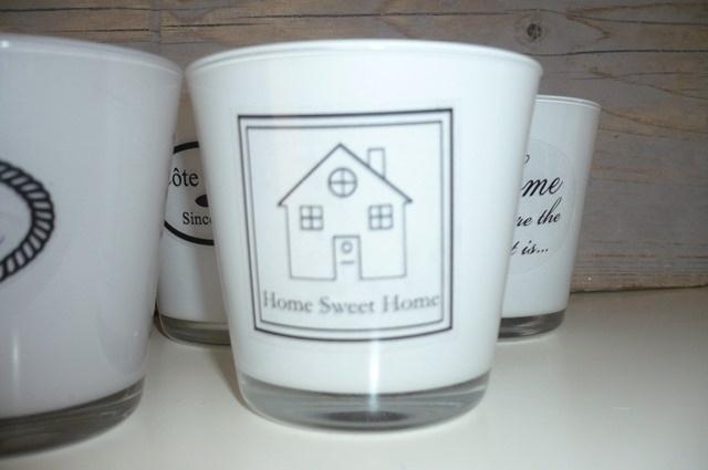 Home sweet home (20 stuks)