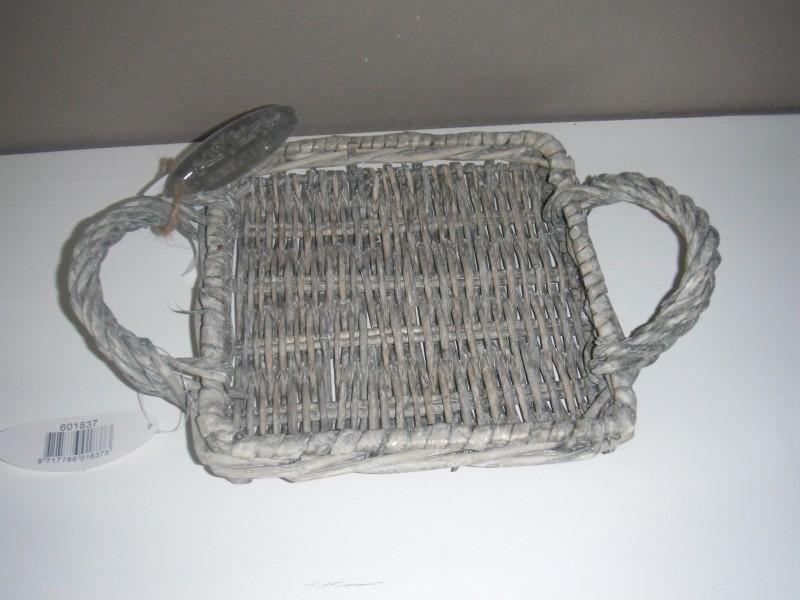 Onderzetter/plateau rustic rattan