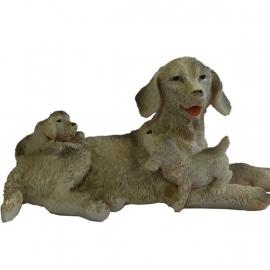 Dd-08.6 Hond met jongen
