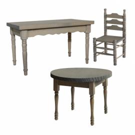 Mbl-051: Tafel / stoel 'oud hollands'