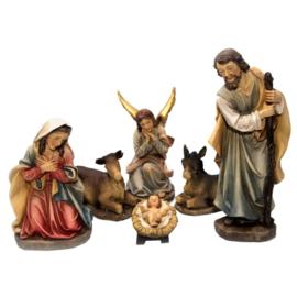 Kerstbeelden (kunsthars) 15 cmH
