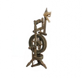Ger-043: Spinnewiel 4 x 14cm
