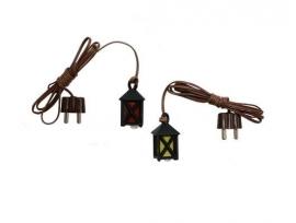Vrl-11 Mini lantaarn 1.5 cm kunststof (LED)