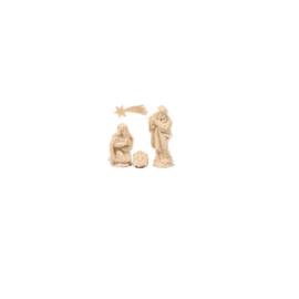 Kerstblokje 5.0: Mini- H. Familie 2 cm hoog