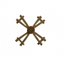 El-622: (Molen) Wieken hout Ø 12 cm