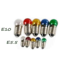El-30:Reservelampjes E5.5 / E10 (3.5 V)