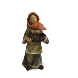 Kg9-10 Vrouw met korf