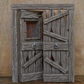 Bmh-231 Gehavende dubbele deur  met tralies