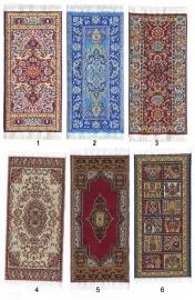 p-pt45: Perzisch tapijt / loper (6 x 13 cm)