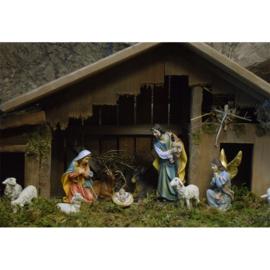 Kerstbeelden 15 cm hoog