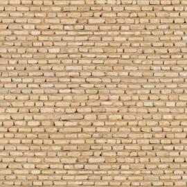 Gp08c: Steenpapier (gele baksteenmuur)