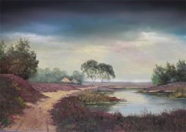 Gpa-B2ag: Achtergrond landschap (50 x 80cm)