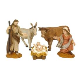 Kerstgroep 8 cm