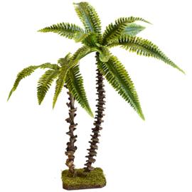 BPM-10b Palmboom (naturel) 2-dubbele stam