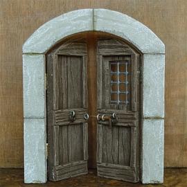 Bmh-207 Dubbele deur (rond)