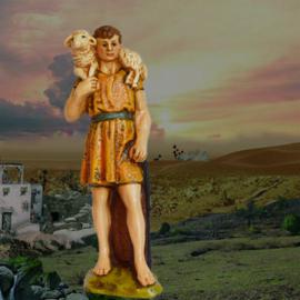 GipsO: Herder 'Harrie met schaap'