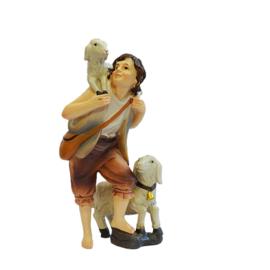 Kg11-2.04  Jonge herder met schaapjes