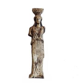G.Orn: Grieks /Romeinse zuil/beeld (antieklook)