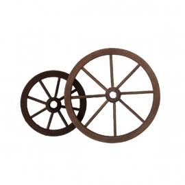 Ger-037: Wagen wiel (donker)