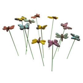 Dv-010.2 Vlinders en Libelle's (set 12 stks)