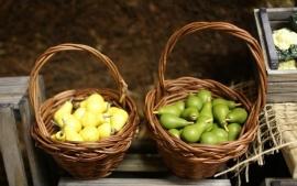 p-r13.1: Fruit / Groente korf (3cmH)